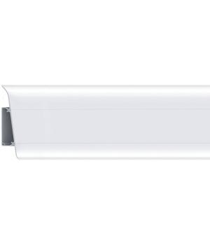 Плинтус RICO Royal № 210 Белый (с кабель-каналом)