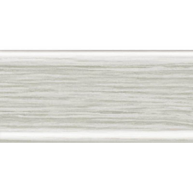 Плинтус RICO Leo № 112 Ясень серый (с кабель-каналом)