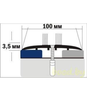 Порог A10 анодированный 90 см.