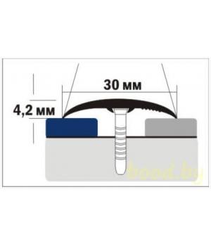 Порог напольный алюминиевый B1 анодированный 135 см.