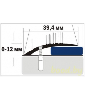 Порог C4 анодированный 90 см.