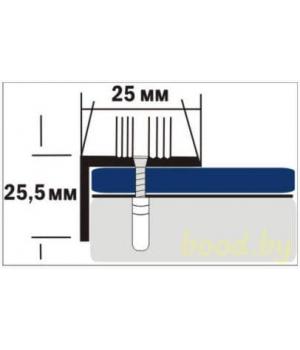 Порог угловой Д9 анодированный 90 см.